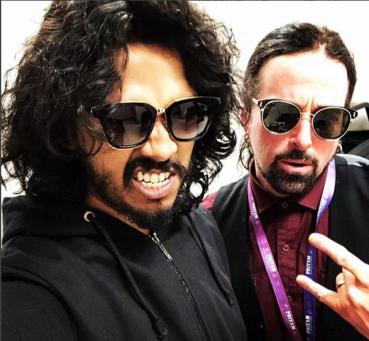 Singer Nakash Aziz spotted wearing KOSCH in NewYork